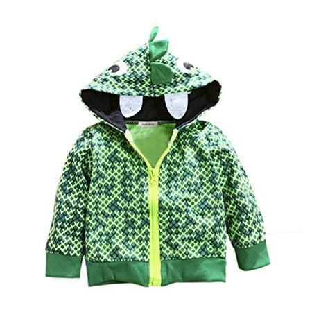 Stylesilove Boy Cute Animal 3D Hoodie Jacket  5 6 Years  Snake