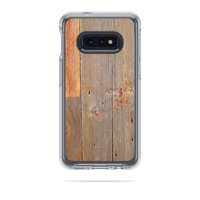 Skin For Otterbox Symmetry Samsung Galaxy 10E - Barnwood | MightySkins Protective, Durable, and Unique Vinyl Decal wrap cover | Easy To Apply, Remove, and Change Styles