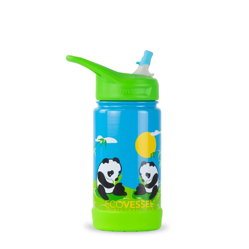 Suitable for Children Kids Panda Themed Child Drinks Bottle Personalised Water Bottle