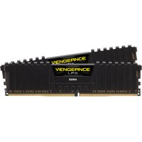 Corsair CMK16GX4M2B3200C16 Vengeance LPX 16GB (2x8GB) DDR4 DRAM 3200MHz C16 Memory Kit - Black