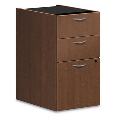Foundation Pedestal File, 15.41w x 20.41d x 27.83h, Box/Box/File, Shaker Cherry
