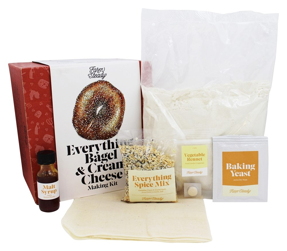 Farm Steady Everything Bagel and Cream Cheese Making Kit by Farm Steady