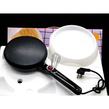 600W Kitchen Electric Griddle Pancake Baking Crepe Maker Pan Pizza Machine - image 4 of 4
