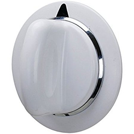 - Dryer Timer Knob Assembly Part for GE Hotpoint White D-Shaft Replacement