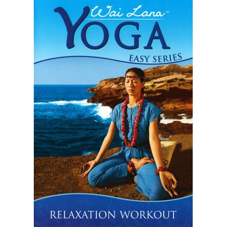 wai lana yoga easy seriesrelaxation workout dvd