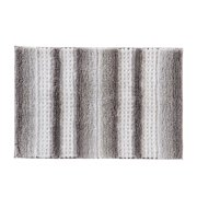 "SKL Home Stripe Fade, Bath Rug, Silver, 20"" x 30"""