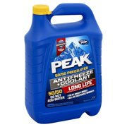 6 One Gallon - (6 pack) PEAK Long Life 50/50 Prediluted Antifreeze and Coolant 1 Gallon
