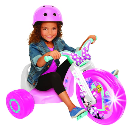 Minnie Mouse 15 Inch Fly Wheels Ride-on Trike with Light on Wheel