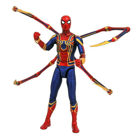 Marvel Select Iron Spider-Man Action Figure - Spiderman Action Figures Walmart