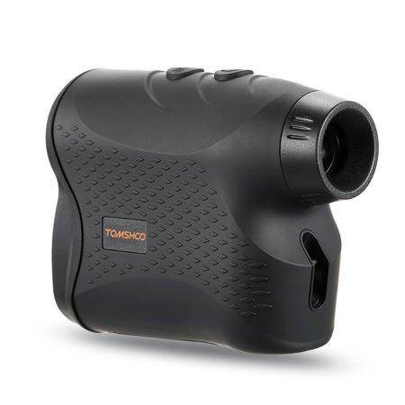 600 Yards 6X25mm Laser Range Finder Golf Rangefinder with Flag Locking Scan Fog Modes Distance Speed Measurement for Outdoor Hunting Horse Racing ()