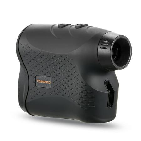 600 Yards 6X25mm Laser Range Finder Golf Rangefinder with Flag Locking Scan Fog Modes Distance Speed Measurement for Outdoor Hunting Horse Racing thumbnail