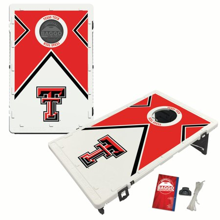 Texas Tech Red Raiders Bag - Texas Tech Red Raiders 2 'x 3' Vintage Design BAGGO Bean Bag Toss Game - No Size