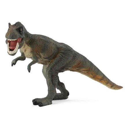 CollectA Prehistoric Life Tyrannosaurus Rex Toy Dinosaur Figure - Authentic Hand Painted & Paleontologist Approved Model - T Rex Model