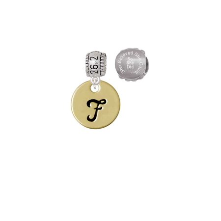 Smart New Arrived 26 Letters Stainless Steel Beads Charm With Hole High Quality Goods Beads & Jewelry Making Jewelry Findings & Components