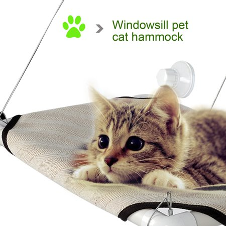 Cat Furniture Sunny Seat Kitty Window Cat Bed  18  X 12 Window Mounted Bed Pet Cot Perch Seat