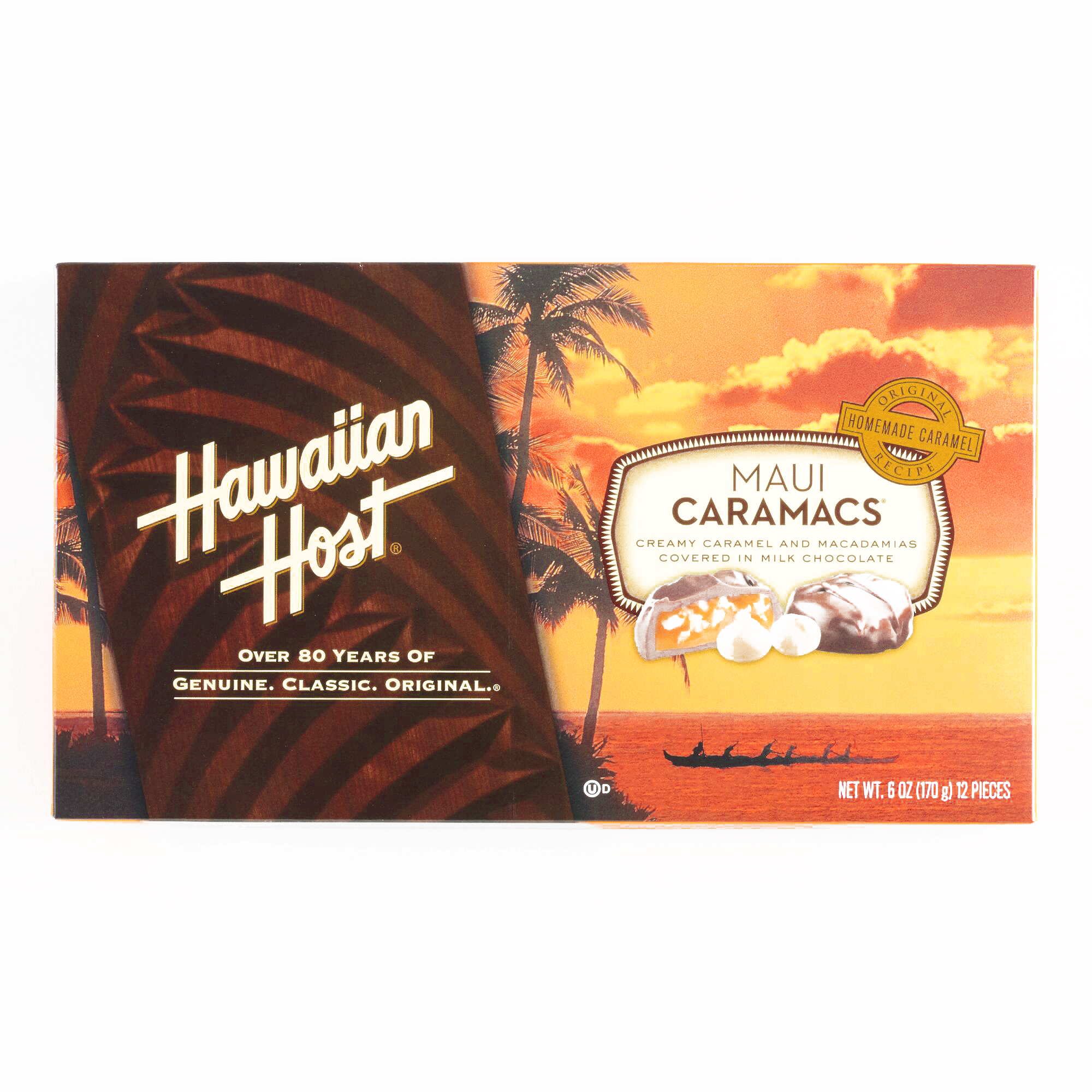 Hawaiian Host Maui Caramacs Box  6 oz each (6 Items Per O...
