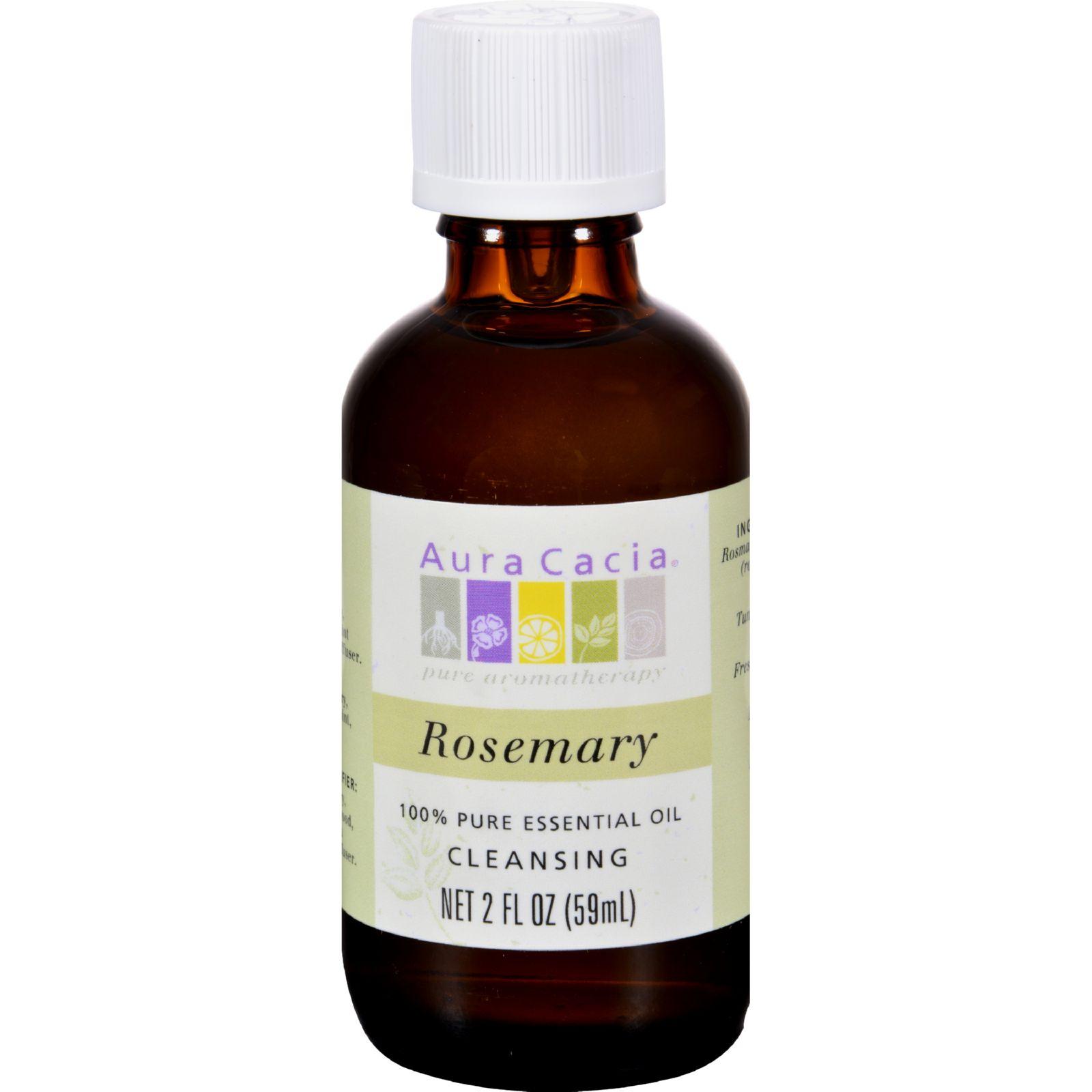 Aura Cacia 100% Pure Essential Oil Rosemary Cleansing - 2 oz
