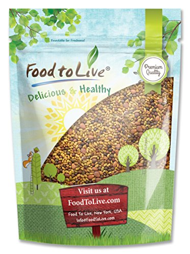 Food To Live Spicy Mix of Sprouting Seeds: Broccoli, Radish, Alfalfa (5 Pounds) by Food To Live