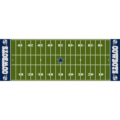 "NFL Dallas Cowboys 24"" x 72"" Runner"