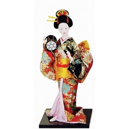 """12"""" Japanese GEISHA Oriental Doll DOL8024-12"""