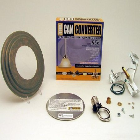 Can Converter R56-RMB-ORB 5 in. & 6 in. Recessed Can Light Converter Kit with Oil Rubbed Bronze Medallion - Orb Light Kit