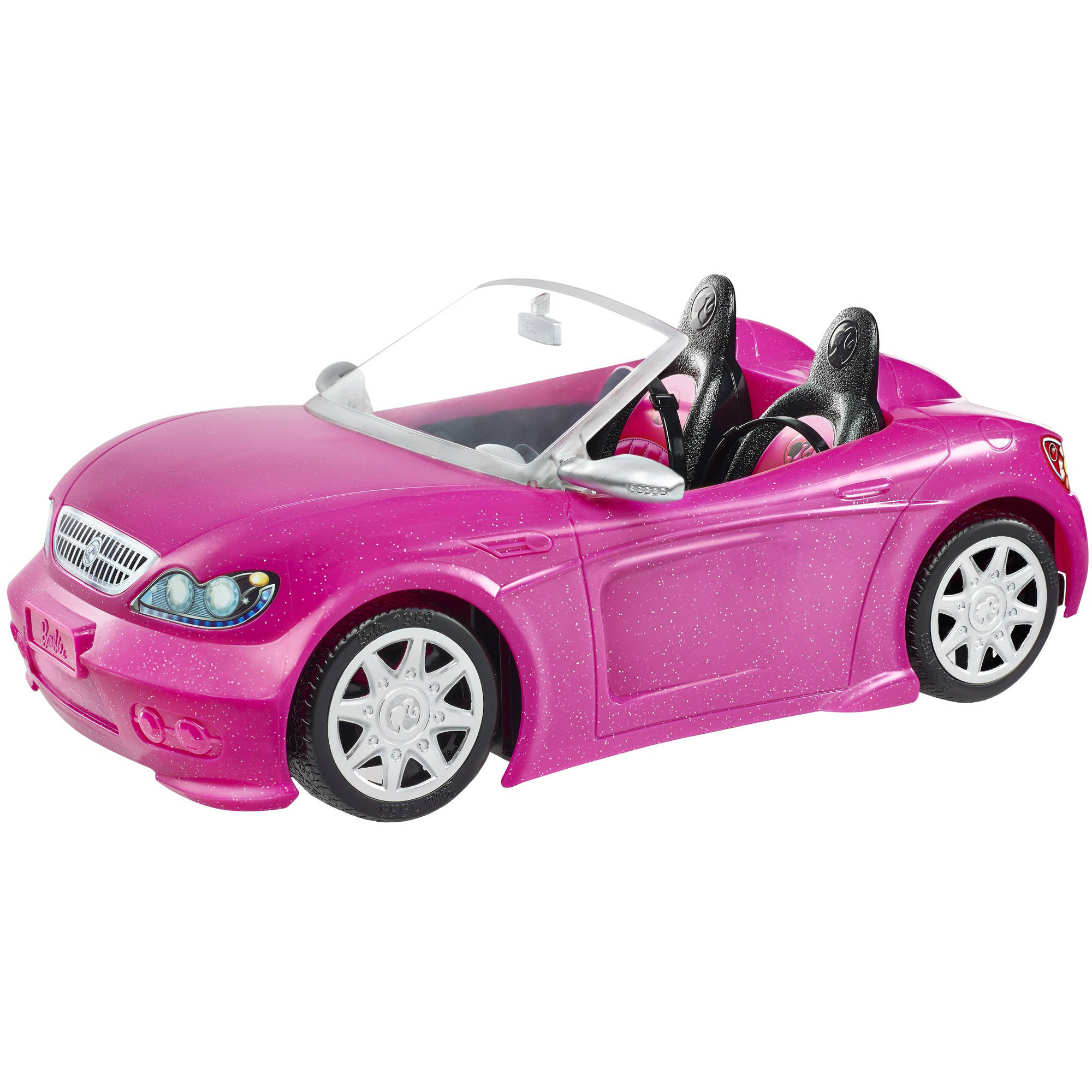 Barbie Glam Convertible, Pink