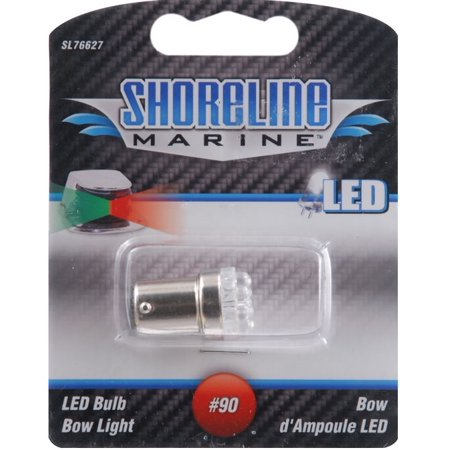 Bow Six Light - Shoreline Marine SL76627 LED Replacement #90 Bulb (Fits All Bow Lights)