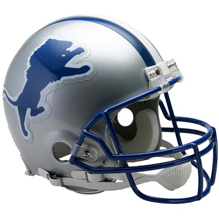 Riddell Detroit Lions Throwback 1983 - 2002 VSR4 Authentic Football Helmet 1960 Authentic Throwback Helmet