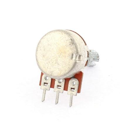9PCS 50K Ohm 6mm Knurled Shaft Single Linear Adjustable Rotary Potentiometers - image 1 of 2