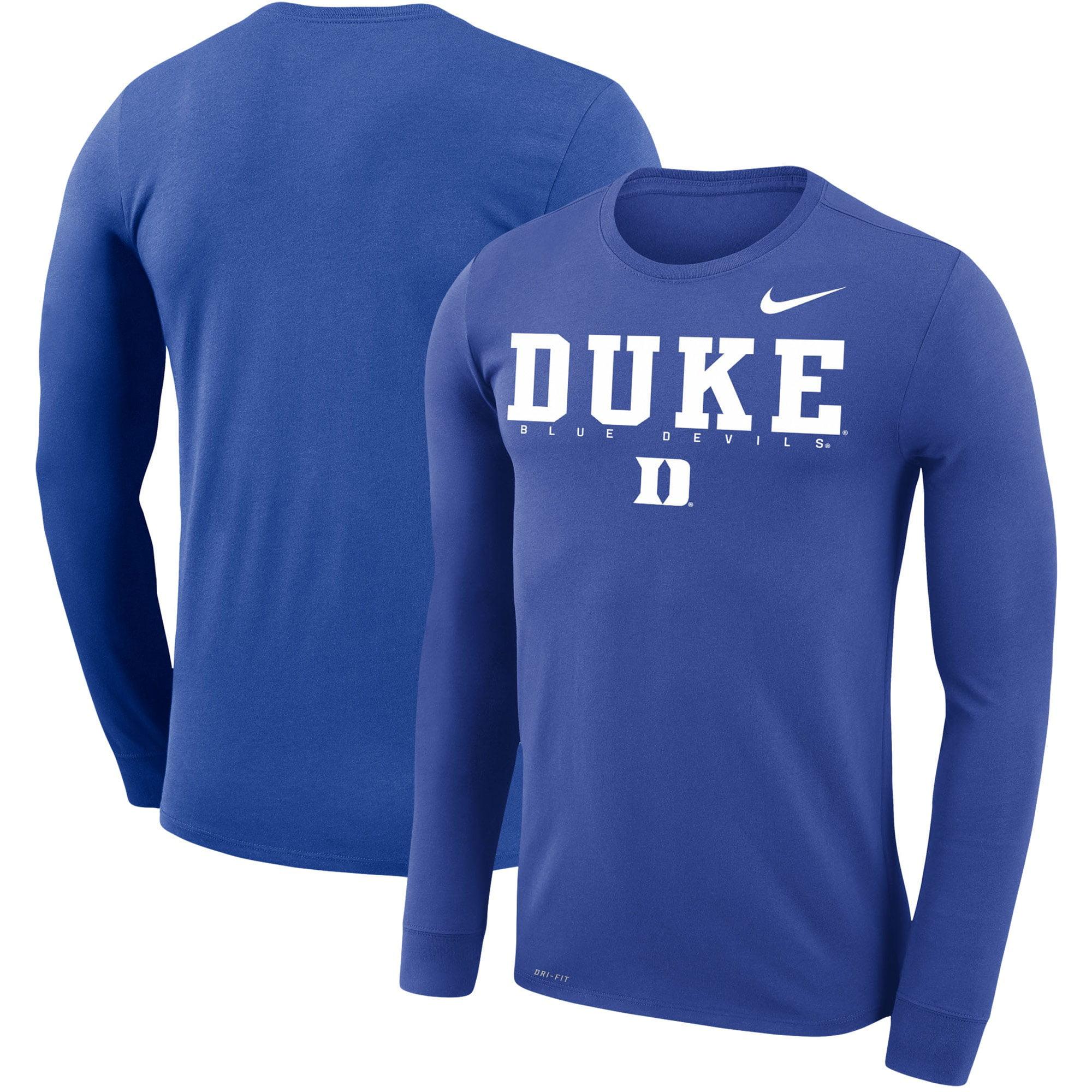 Champion Duke Blue Devils Adult NCAA Athletic Performance T-Shirt Royal