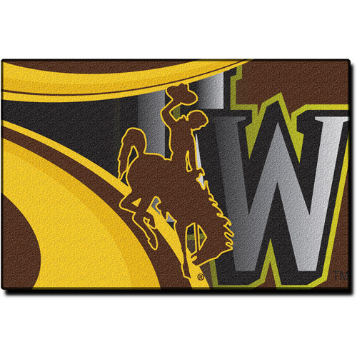 "NCAA Wyoming Cowboys 39"" x 59"" Rug"