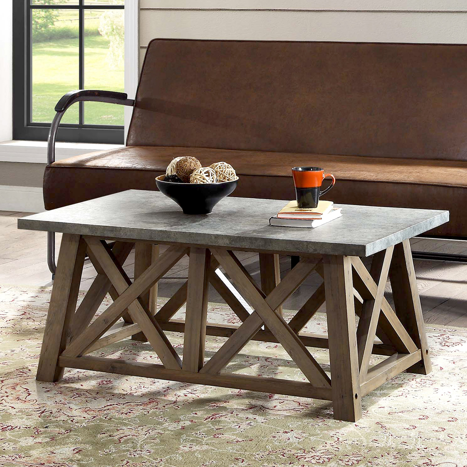 Better Homes Gardens Granary Modern Farmhouse Coffee Table