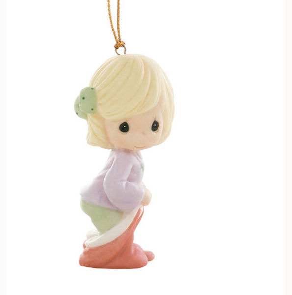 Precious Moments Christmas 910013 May Your Christmas Be Filled With Sweet Surprises Ornament