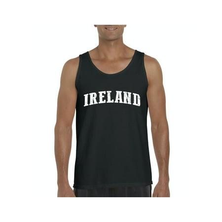Ireland Men Ultra Cotton Tank Top (Ireland Tank Top)