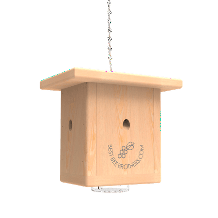 Pine Wood Carpenter Bee Box Trap (Best Way To Get Rid Of Carpenter Bees)