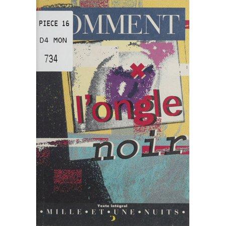 L'Ongle noir - eBook (Ongle D'halloween)