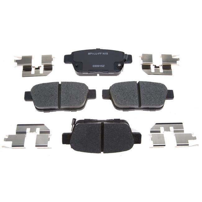 RM Brakes RMGDCH Acura TL Brake Pad Set - Acura tl brake pads