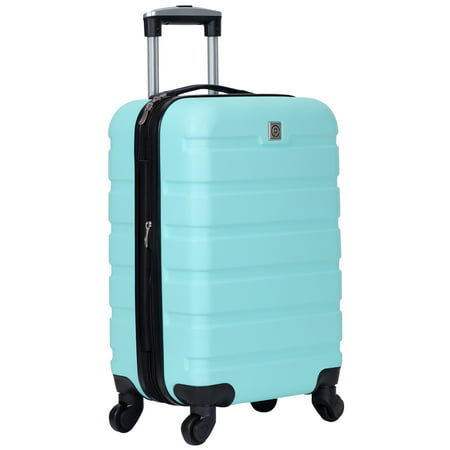 """Protégé 20"""" Expandable Spinner Rolling Carry-on - Teal"""