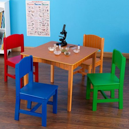 261 nantucket kids table and 4 chair set. Black Bedroom Furniture Sets. Home Design Ideas