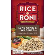 (6 pack) Rice-A-Roni Long Grain & Wild Rice Mix, 4.3 oz Box