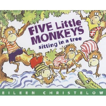 Five Little Monkeys Sitting in a Tree Book & CD (Monkeyin Around)