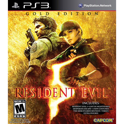 Resident Evil 5: Gold Edition (Playstation 3) by Capcom CO., LTD