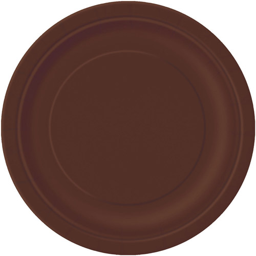 Paper Plates 9 In Brown 16ct Walmart Com