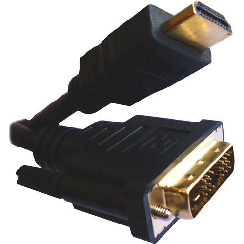 Professional Cable 2m HDMI Male to DVI Male Single Link Cable