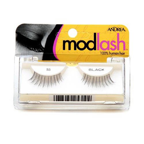 Andrea Mod Lash False Eyelash Strips, Black [53] 1 ea