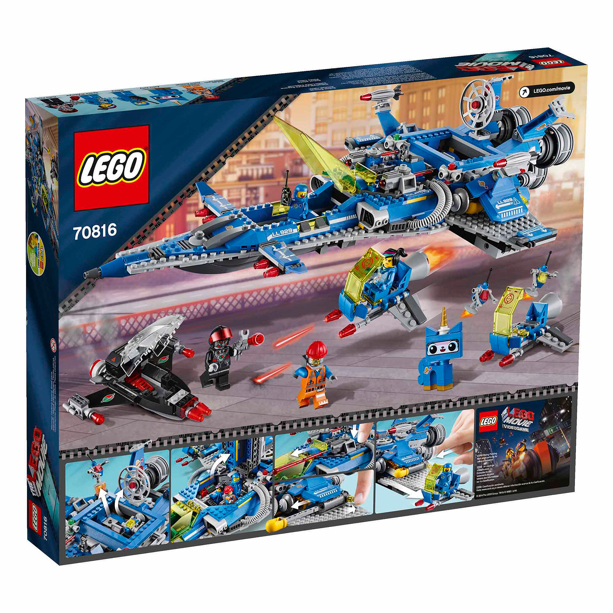 Lego Movie Bennys Spaceship Spaceship Spaceship Walmart