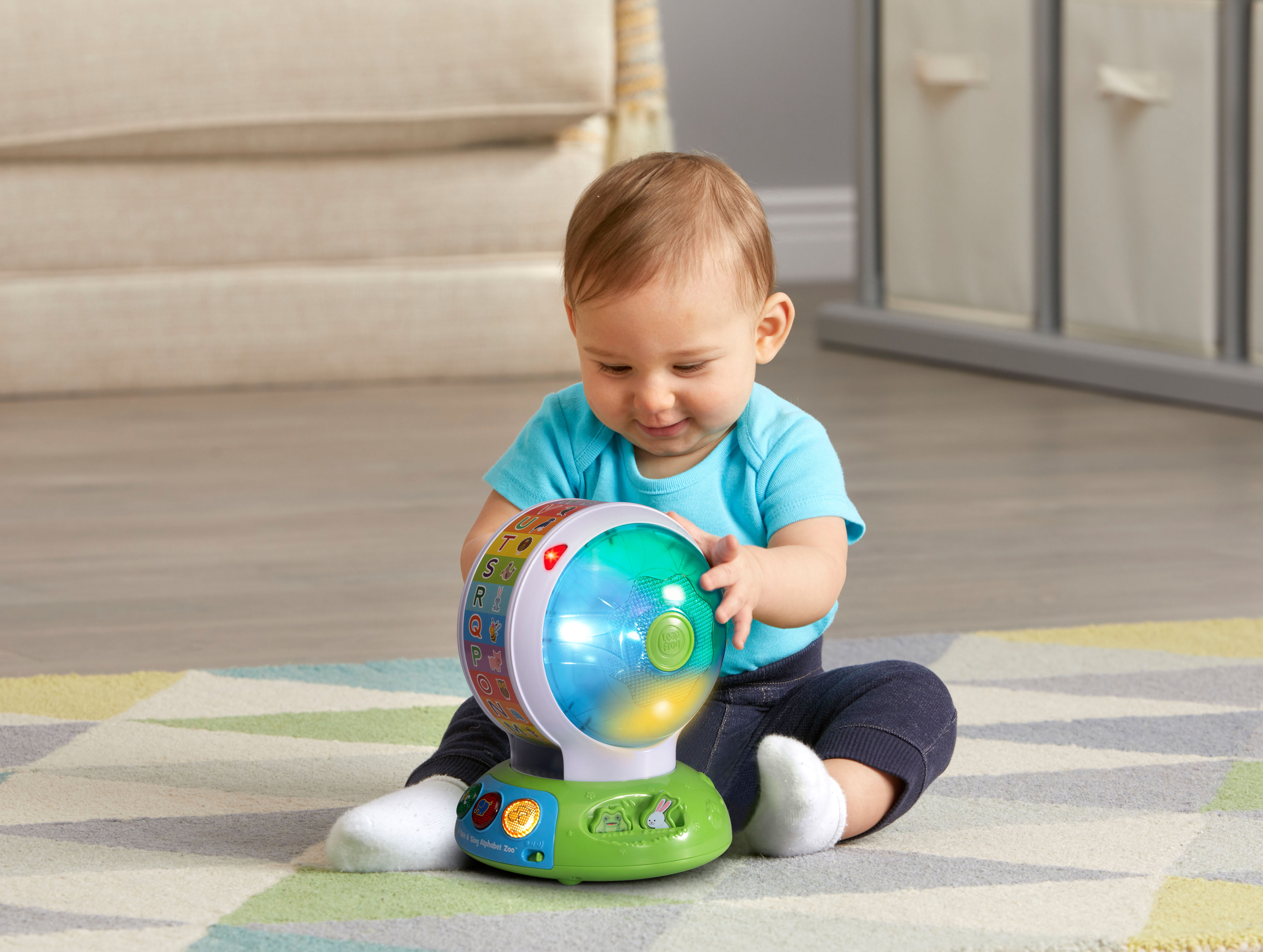 LeapFrog Spin and Sing Alphabet Zoo Alphabet Learning Leap ...