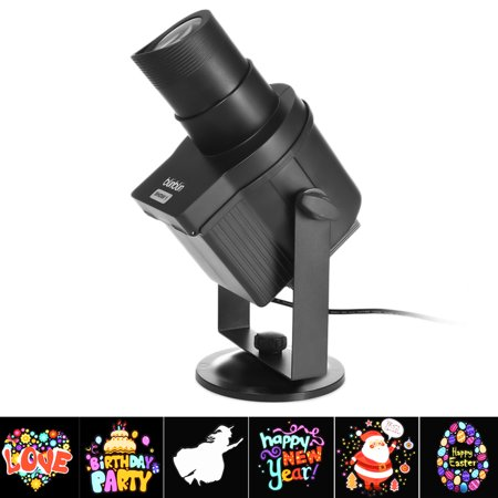 blinblin SHOW 1 Waterproof Rotating LED Projector Lights 6 Pattern Slide Garden Lamp for Christmas Halloween Holiday - Un Show Mas Halloween 3