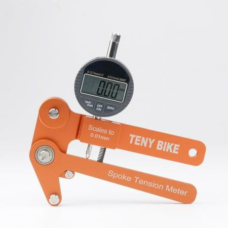 Aluminum Alloy Bike Spoke Tension Meter Wheel Builders Tool Bikes Indicator Tensiometer Scales to 0.01mm - image 6 of 6