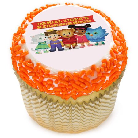 Daniel Tiger Neighborhood Friends 2 Quot Edible Cupcake Topper